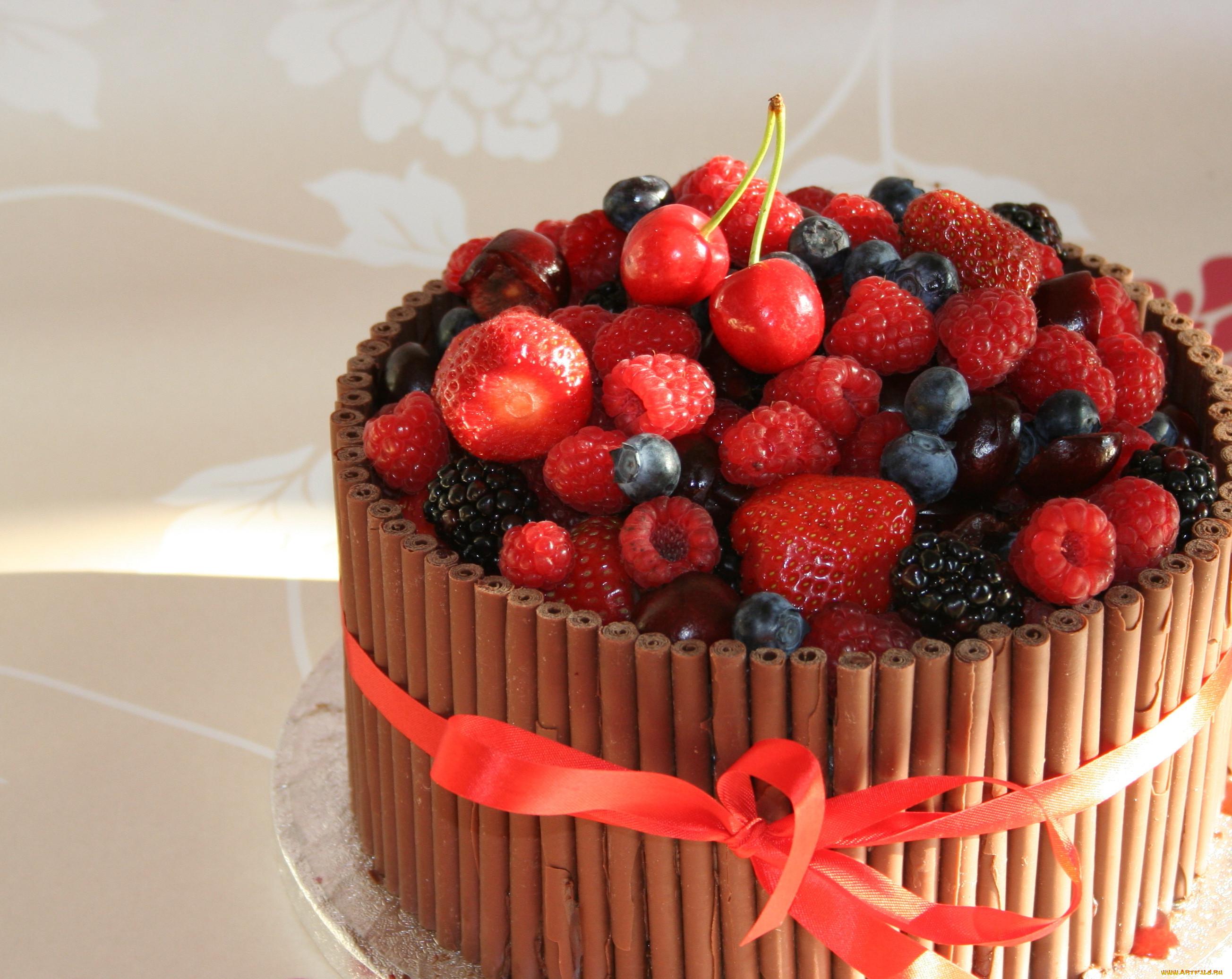 фото тортов с ягодами и фруктами прийти детьми